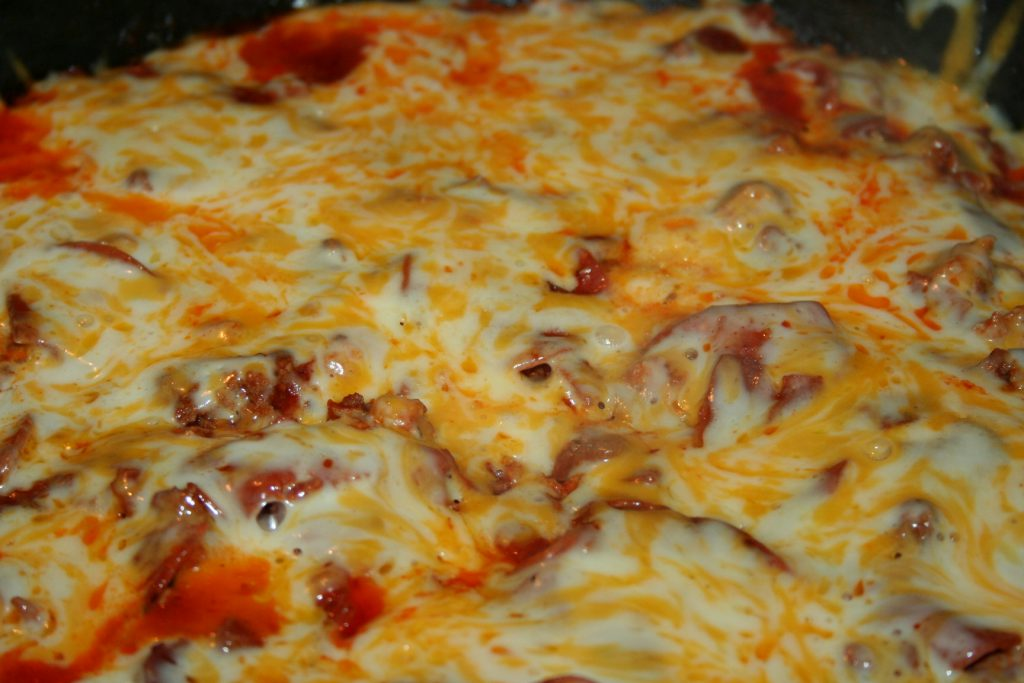 Pizza Skillet ~ Lifeofjoy.me