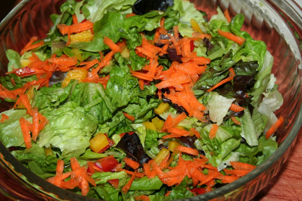 Lettuce carrot peppers ~ Lifeofjoy.me