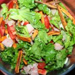 Sweet Potato Fries Salad ~ Lifeofjoy.me