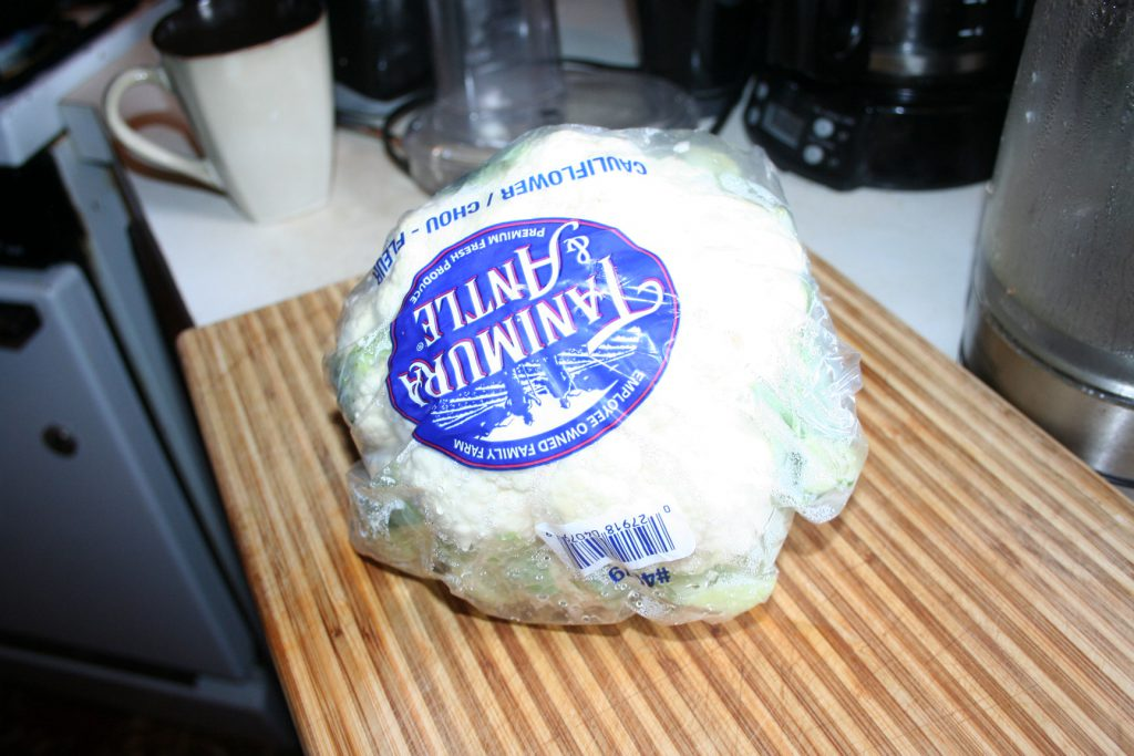 Cauliflower Head ~ Lifeofjoy.me