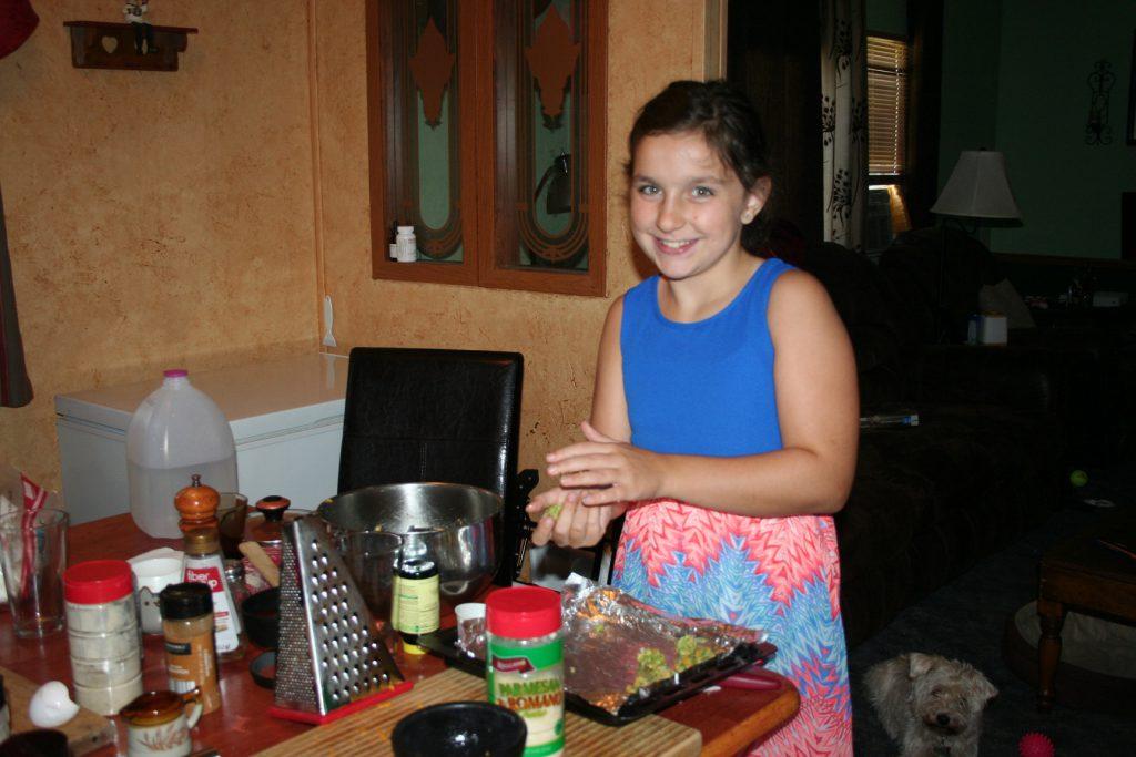 Making broccoli tots ~ Lifeofjoy.me