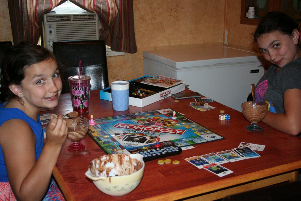 Ice Cream and board game ~ Lifeofjoy.me