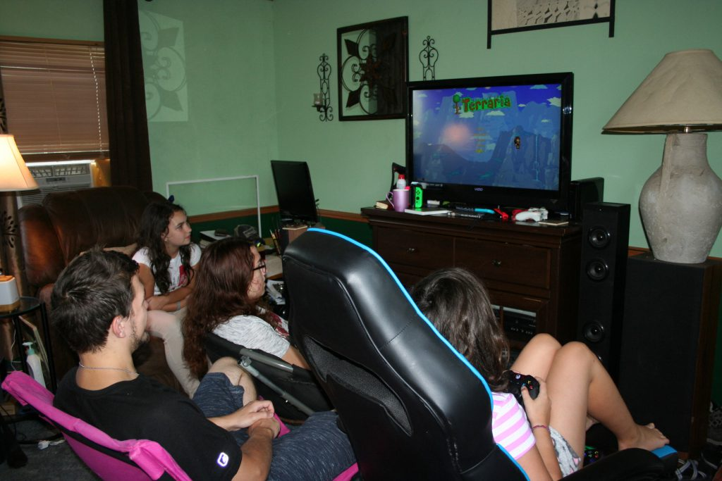 Gaming with cousins ~ Lifeofjoy.me