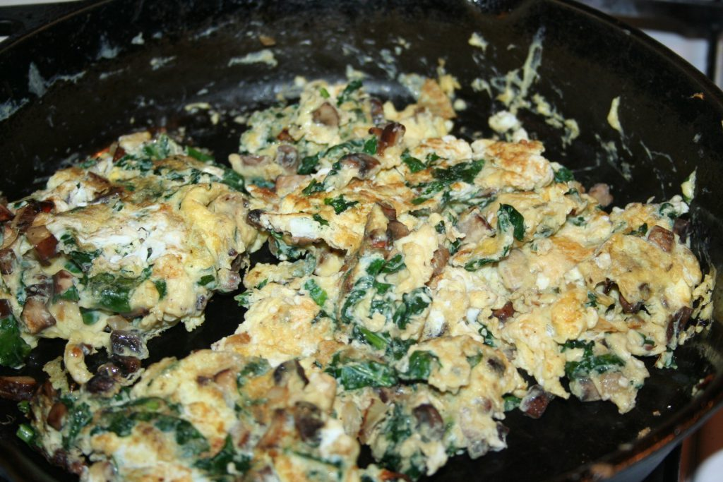 Scrambled veggies ~ Lifeofjoy.me
