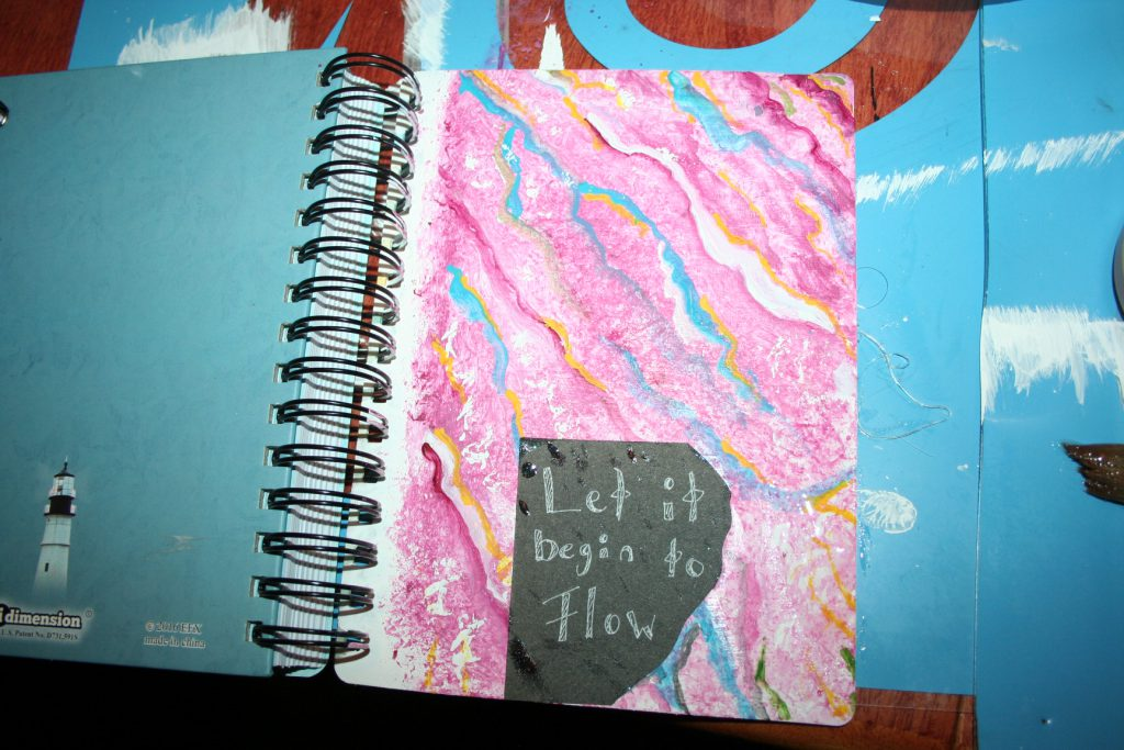 Pink faux marble cover ~ Lifeofjoy.me