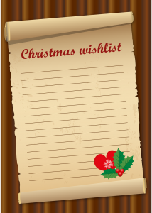 Christmas List ~ lifeofjoy.me