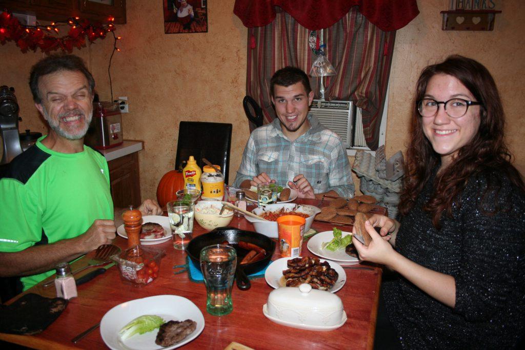 Family dinner ~ Lifeofjoy.me