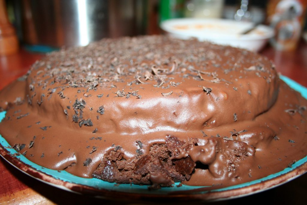 Odd layer chocolate cake~ Lifeofjoy.me