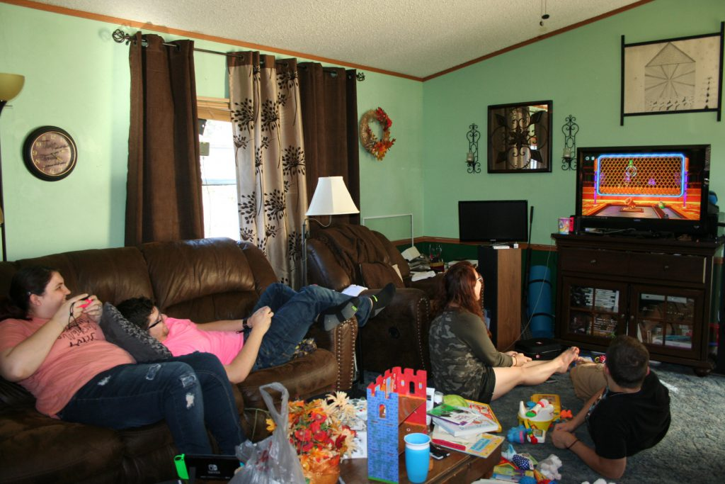 Adult kids playing mario party ~ Lifeofjoy.me
