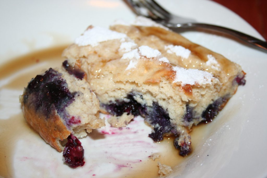 Giant Blueberry Baked Pancake ~ Lifeofjoy.me