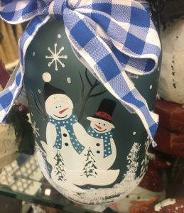 Snowman Jar ~ Lifeofjoy.me