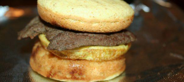 Breakfast pancake sandwiches ~ Lifeofjoy.me