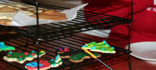 Painting Christmas Cookies ~ LIfeofjoy.me