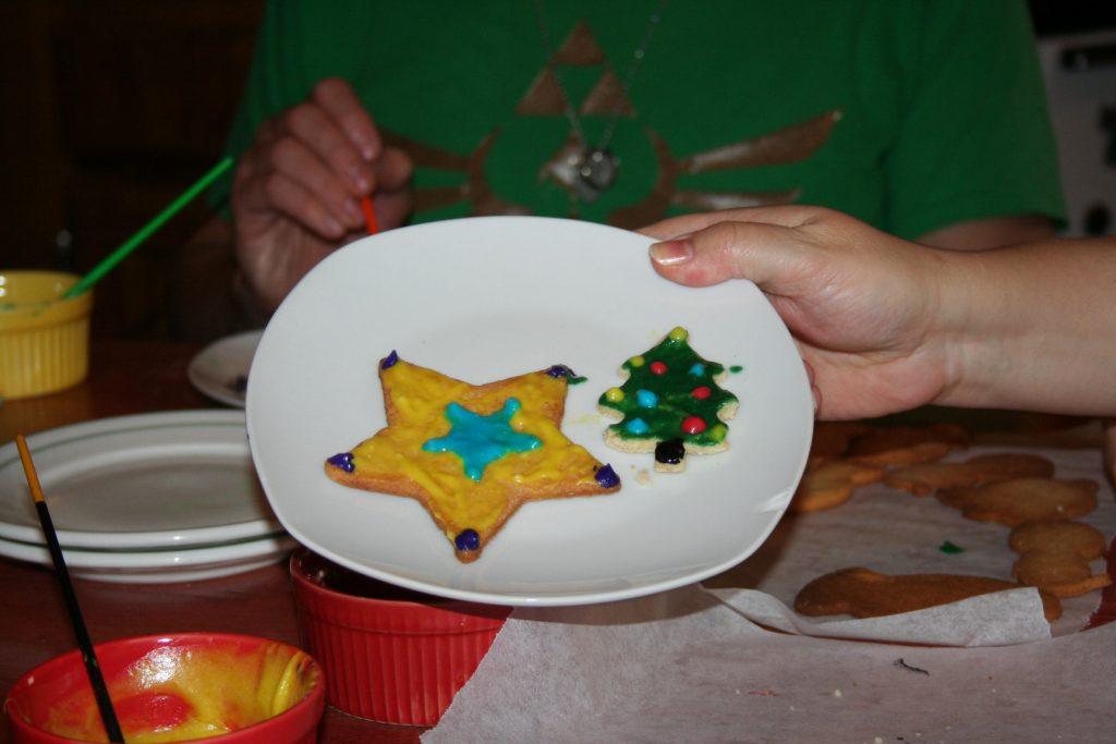 Star and Tree Cookies ~ Lifeofjoy.me