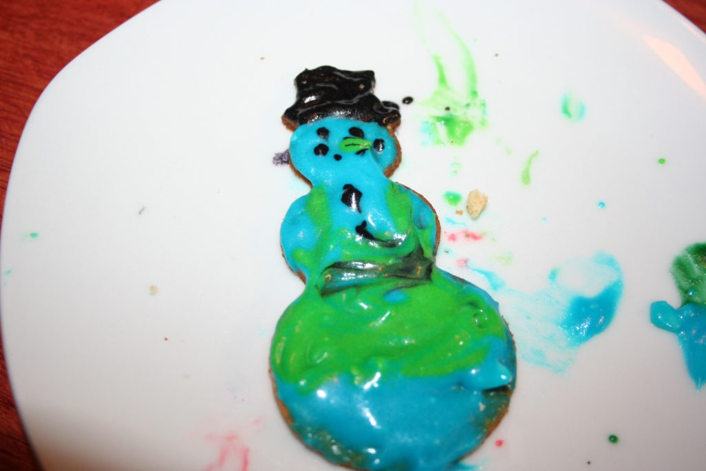 Snowman cookie ~ Lifeofjoy.me