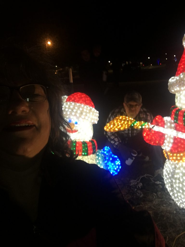 Snowmen lights ~ Lifeofjoy.me