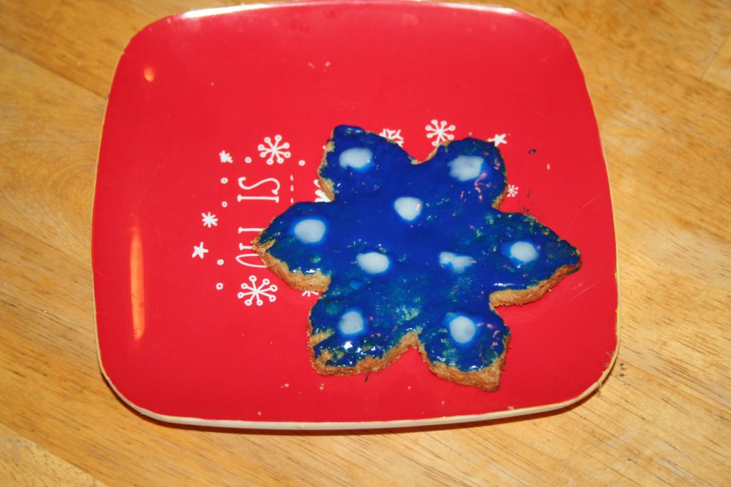 snowflake cookie ~ LIfeofjoy.me