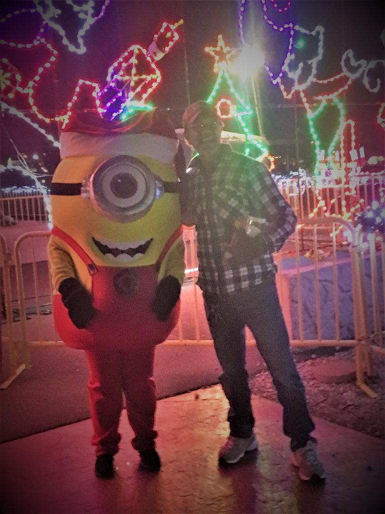 Minion and MIchael ~ LIfeofjoy.me
