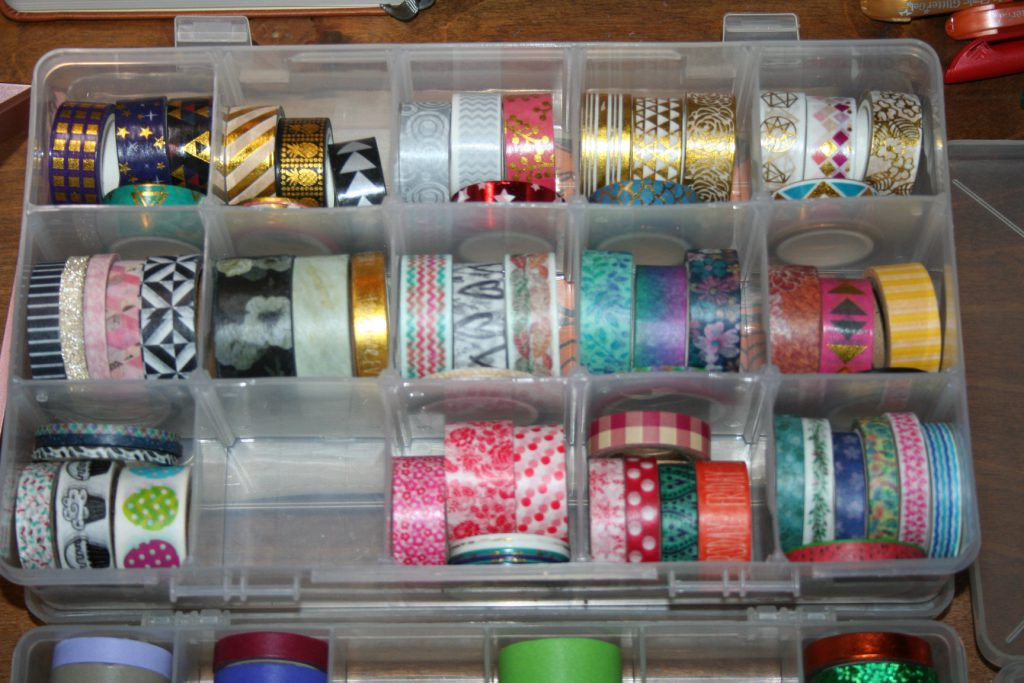 shiny washi tape + ~ Lifeofjoy.me