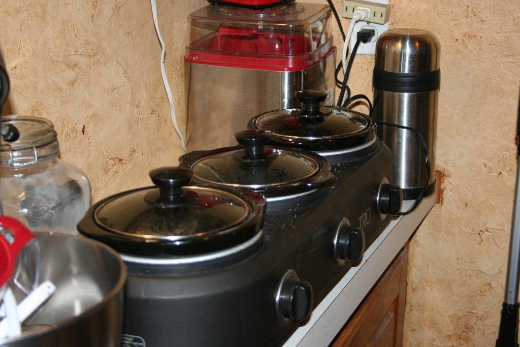 3-crock cooker ~ Lifeofjoy.me