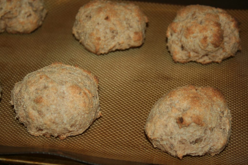 Sprouted Spelt No-Fat Drop Biscuits ~ Lifeofjoy.me