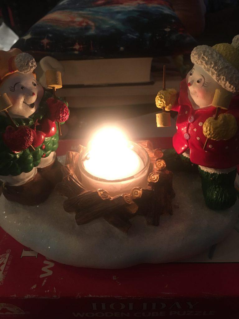Snowmen Candle ~ Lifeofjoy.me
