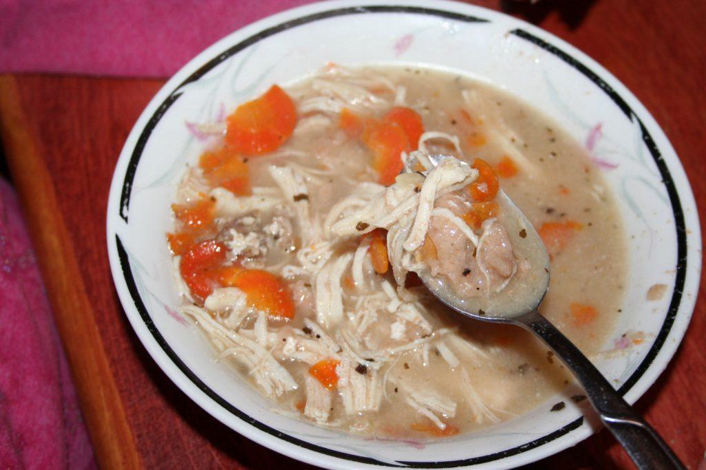 Crock Pot Chicken and Noodles ~ Lifeofjoy.me