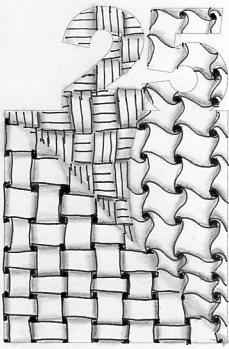 Grid Tangles ~ LifeOfJoy.me