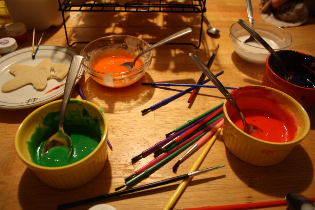 "Powdered Sugar Frosting ""Paint"" ~ LifeOf Joy.me"