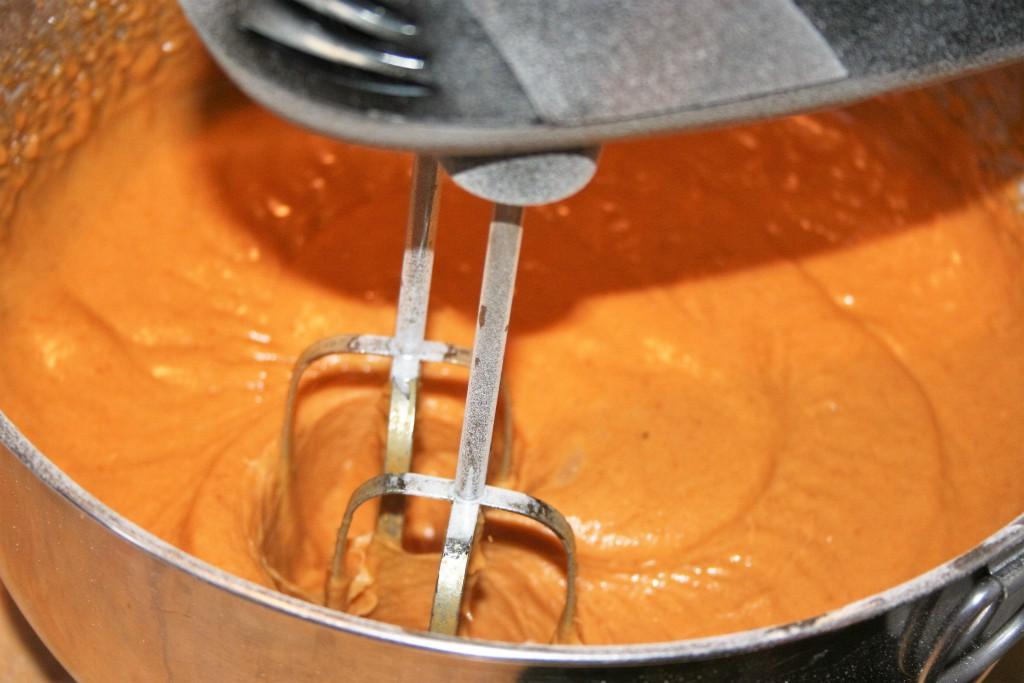 Pumpkin Bars Ingredients combined ~ lifeofjoy.me