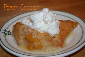 Peach Cobbler ~ LifeofJoy.me