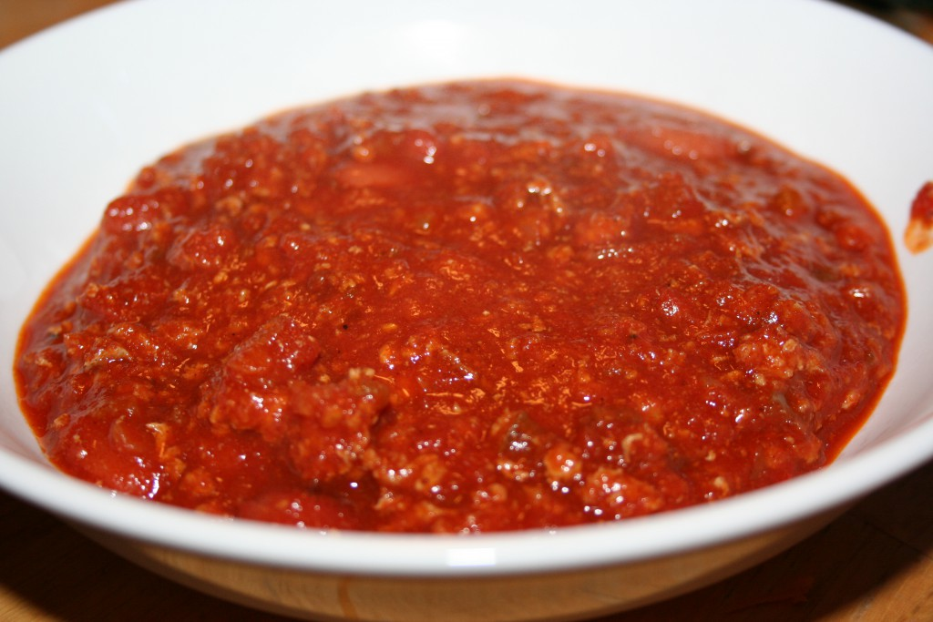 Cheeseless Bowl of Chili ~ LifeofJoy.me