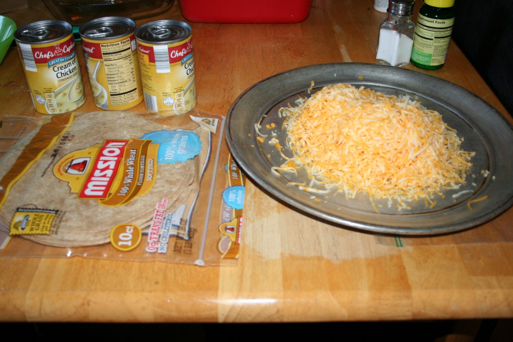 Chicken Ench Ingredients ~ LifeofJoy.me