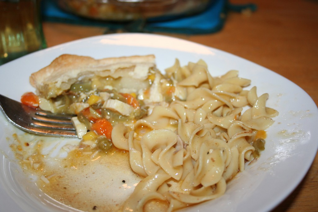 Served with Noodles ~ LifeofJoy.me