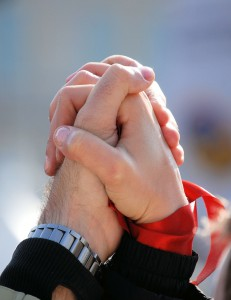 Praying Together ~ LifeofJoy.me
