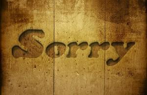 Power of Sorry ~ Lifeofjoy.me