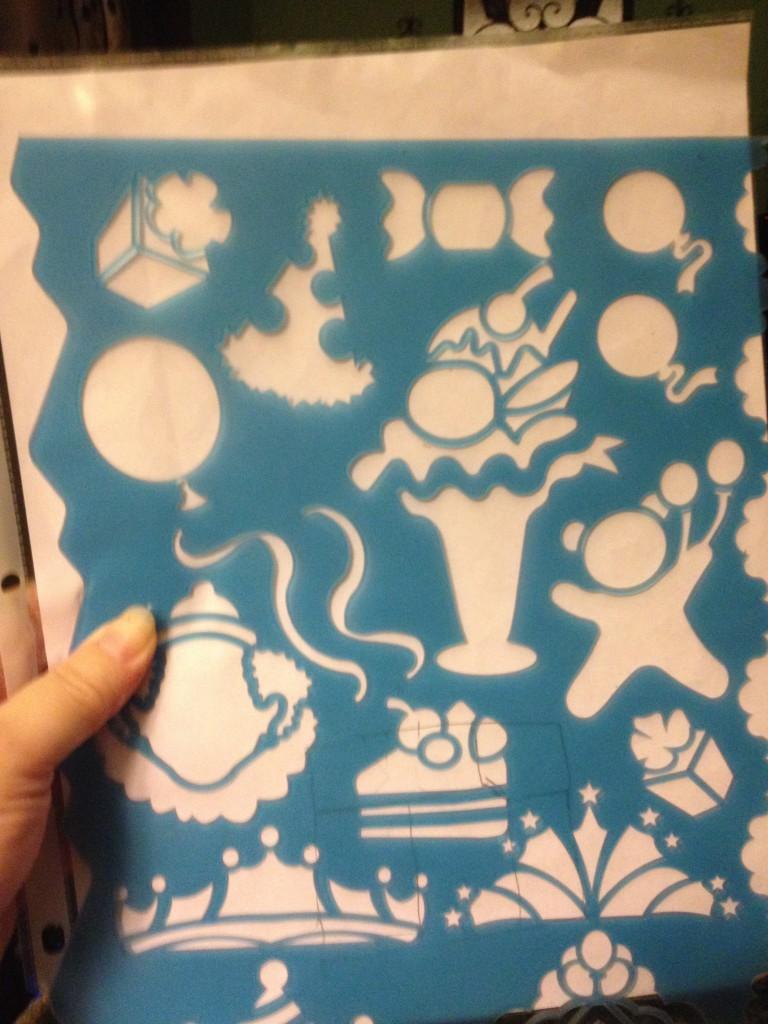 Balloons Stencils ~ Lifeofjoy.me