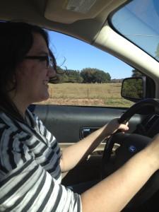 Tiff Driving ~ Lifeofjoy.me