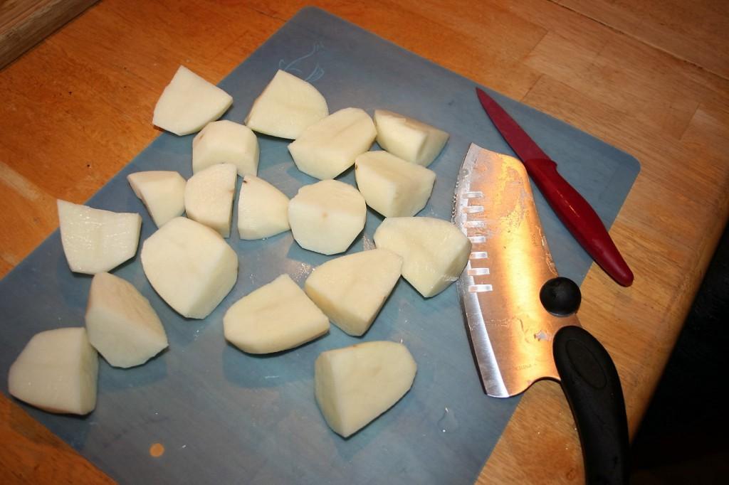 Potatoes ~ Granny's Chicken Soup ~ Lifeofjoy.me