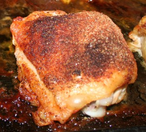 Baked Chicken Thighs ~ Lifeofjoy.me
