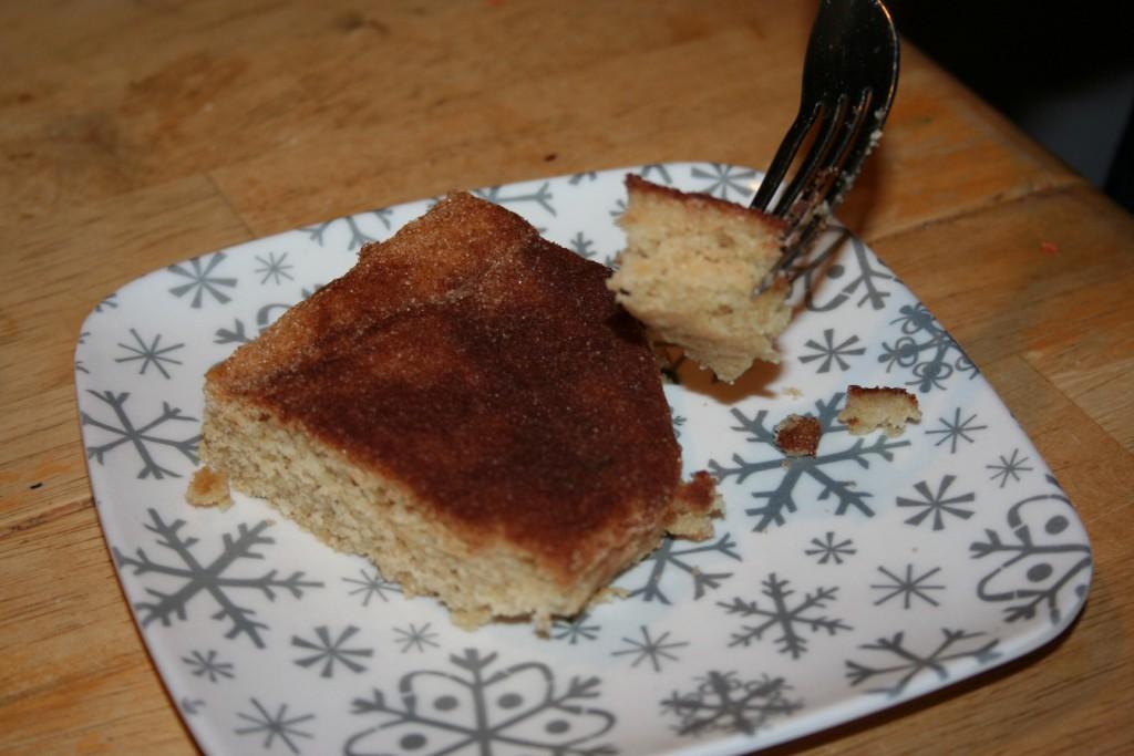 Cinnamon Toast Cake ~ Lifeofjoy.me