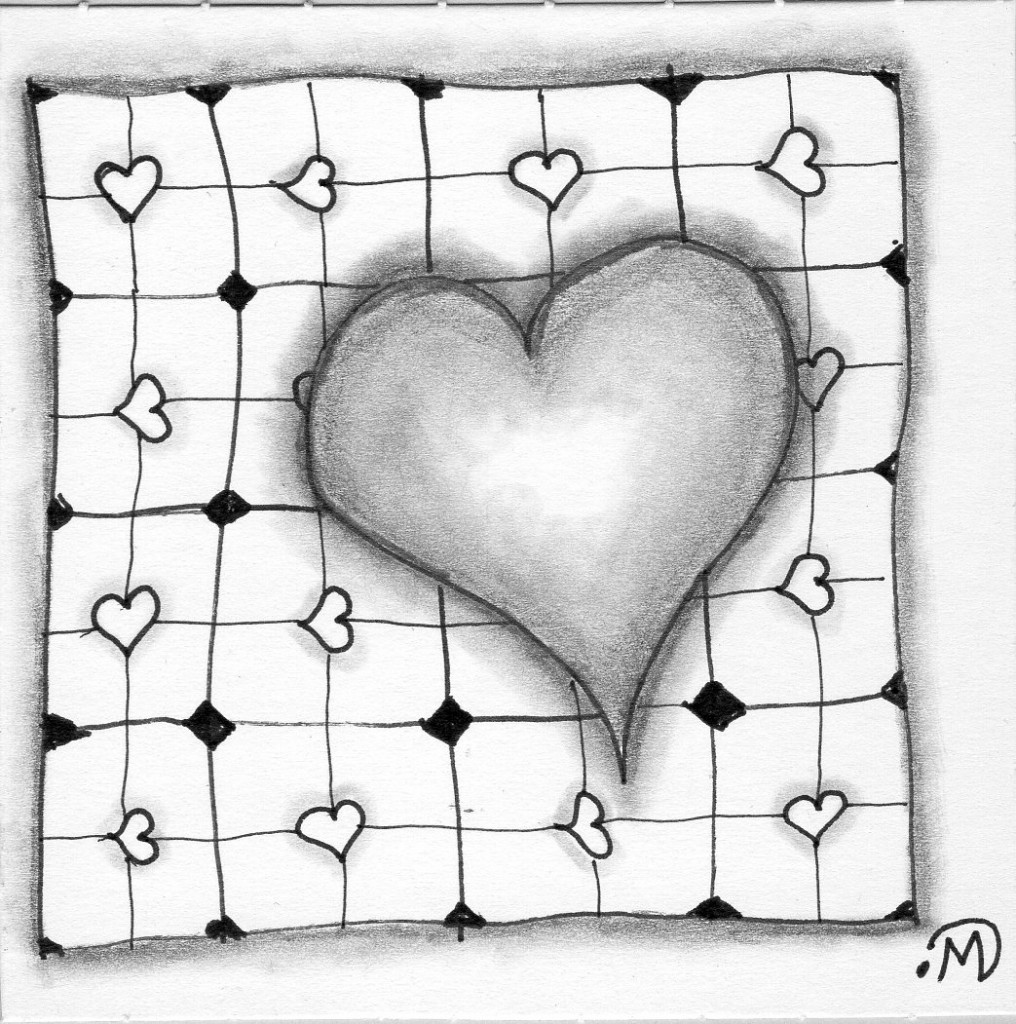 Some Heart-y Tangling ~ Lifeofjoy.me