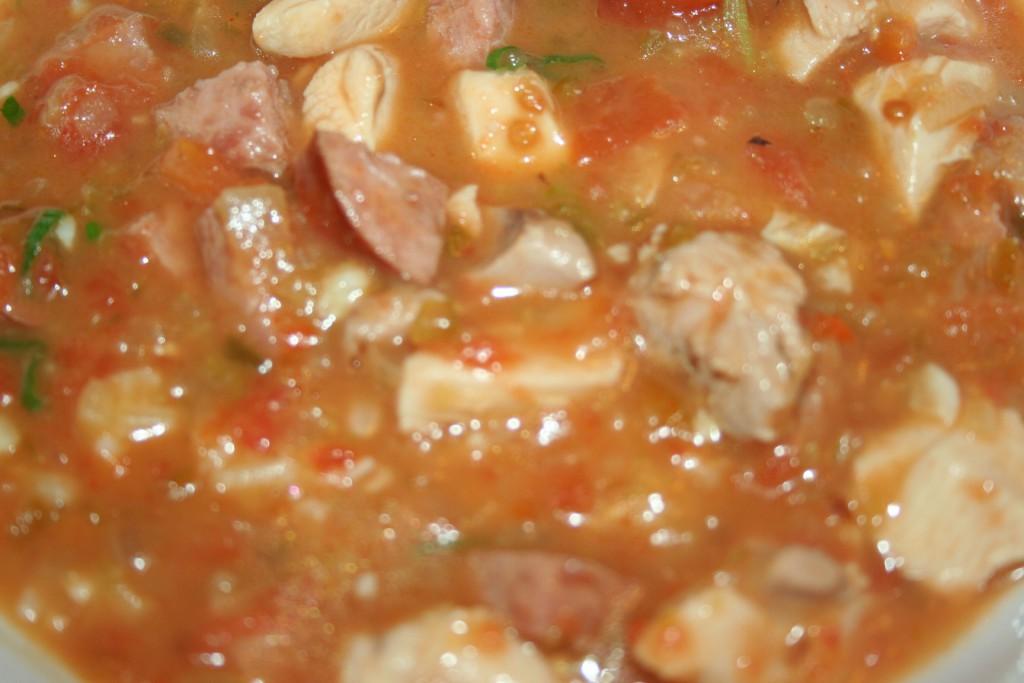 Chicken and Sausage Gumbo ~ Lifeofjoy.me