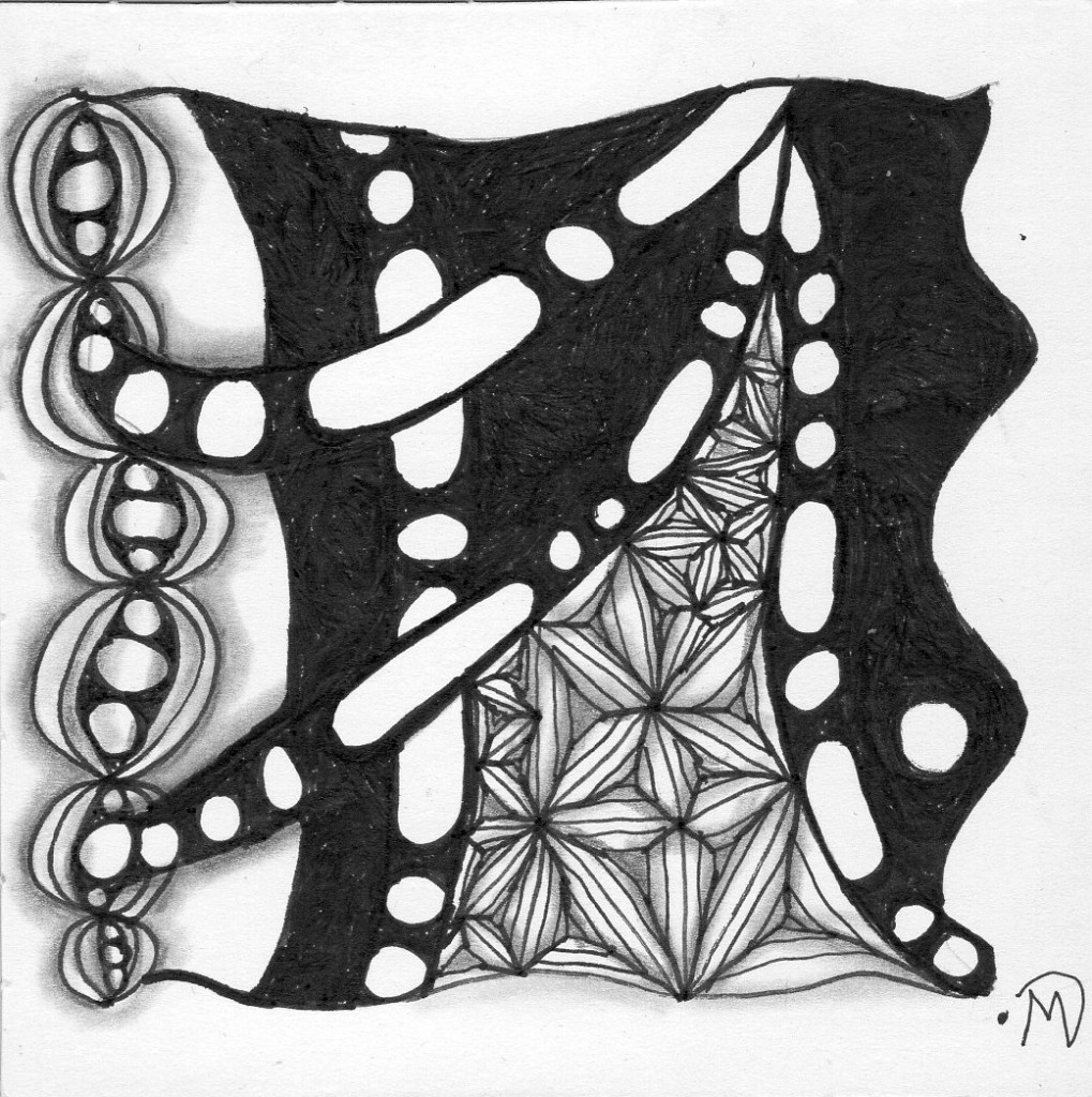 One Zentangle for Several ~ Lifeofjoy.me