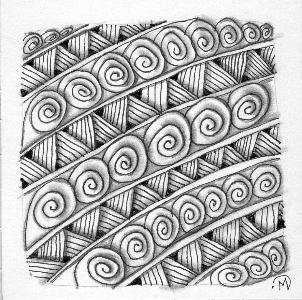 Stripes and Snail ~ Lifeofjoy.me