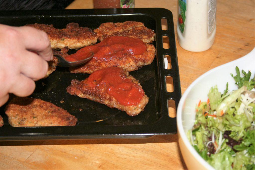 Chicken Parmesan ~ Lifeofjoy.me