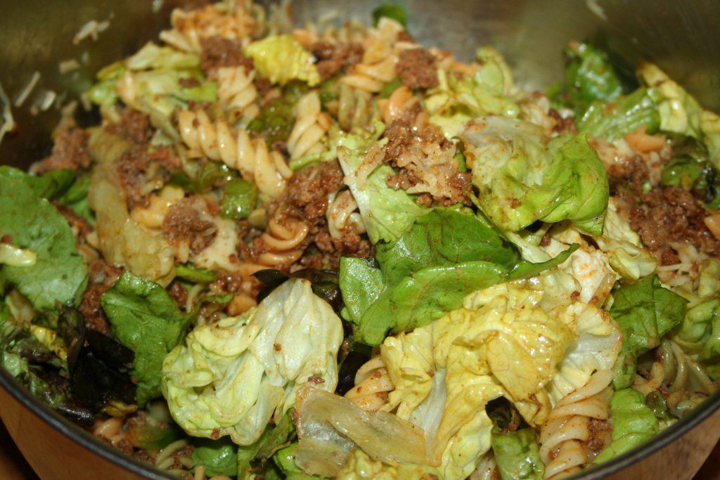 Taco Mac Salad ~ Lifeofjoy.me