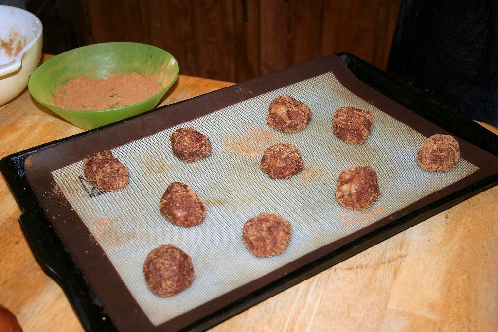 Snickerdoodle Cookies-the Keto version ~ Lifefofjoy.me