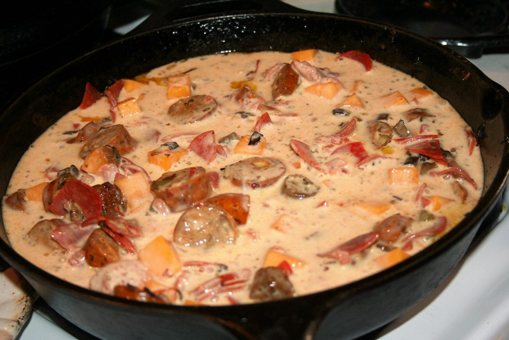Pizza Topping Casserole ~ Lifeofjoy.me