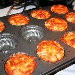 Pepperoni Pizza Muffins ~ Lifeofjoy.me